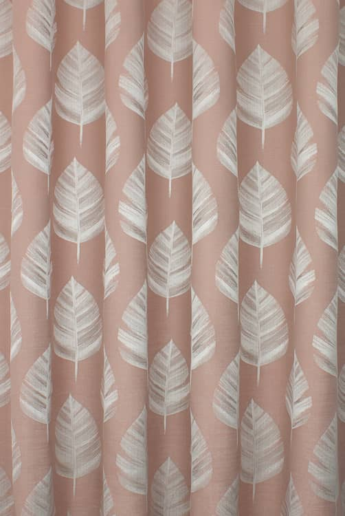 Bowood Blush Made to Measure Curtains