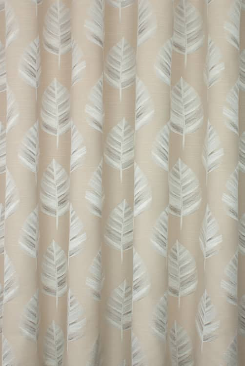 Bowood Oyster Curtain Fabric