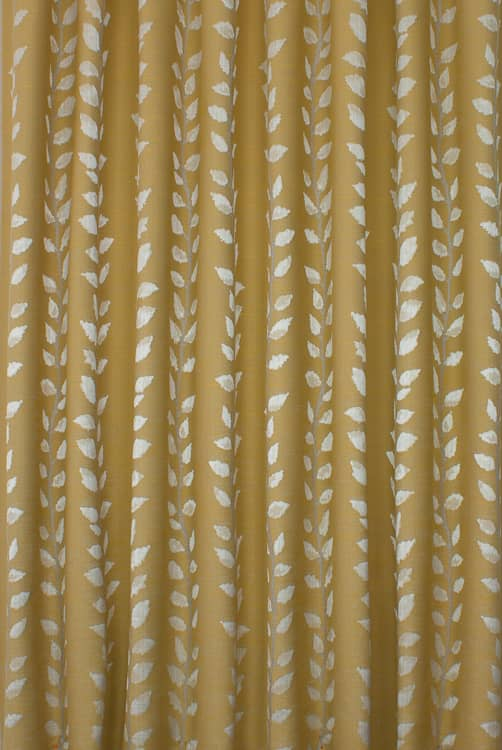 Forbury Dijon Curtain Fabric