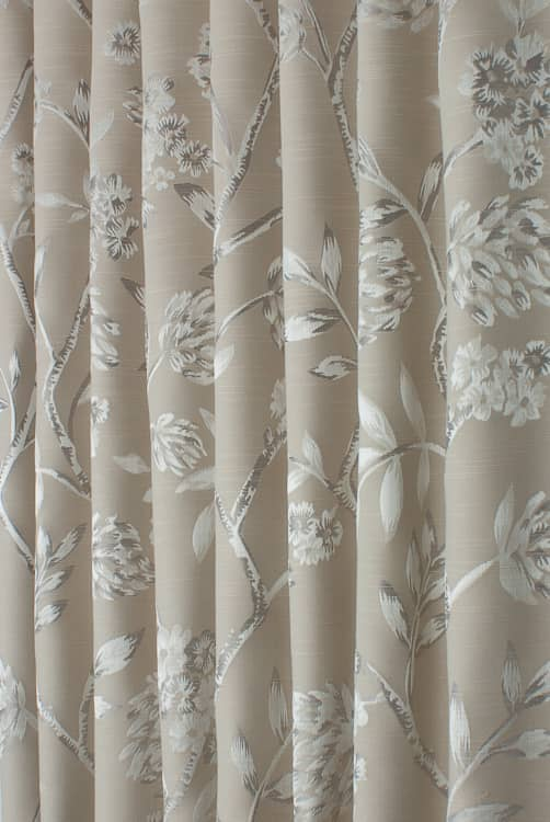 Wavertree Oyster Curtain Fabric