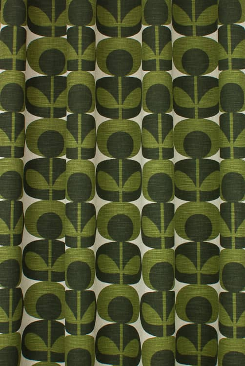 Slub Cotton Oval Flower Khaki Roman Blinds