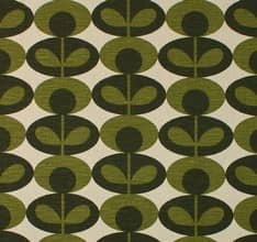 Slub Cotton Oval Flower - Khaki