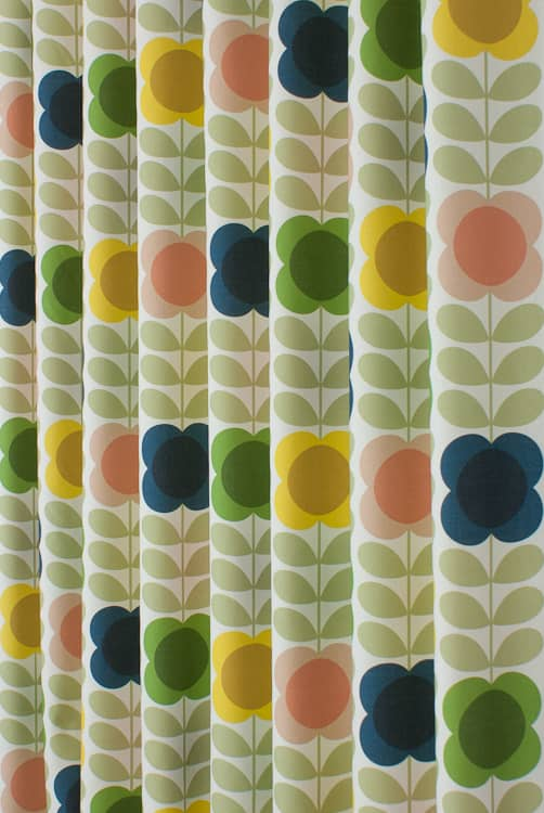 Summer Flower Stem Multi Roman Blinds
