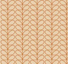 Woven Linear Stem - Orange
