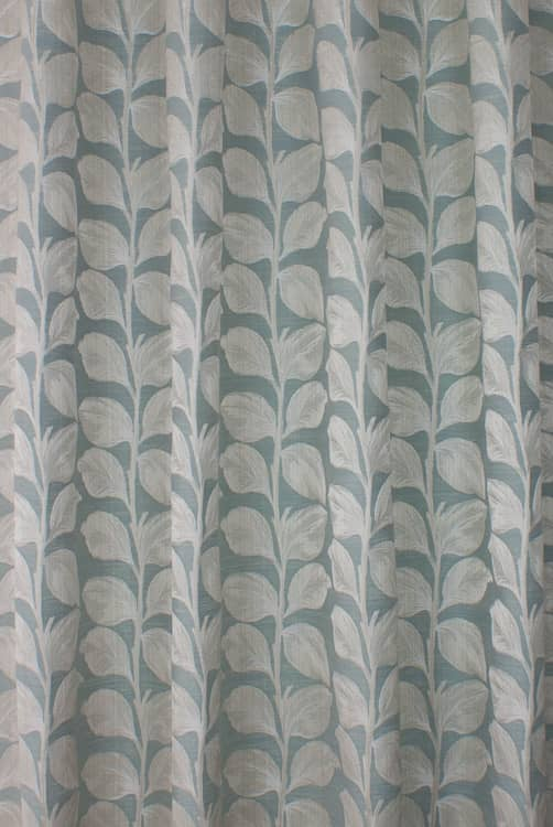 Mabel Duck Egg Curtain Fabric
