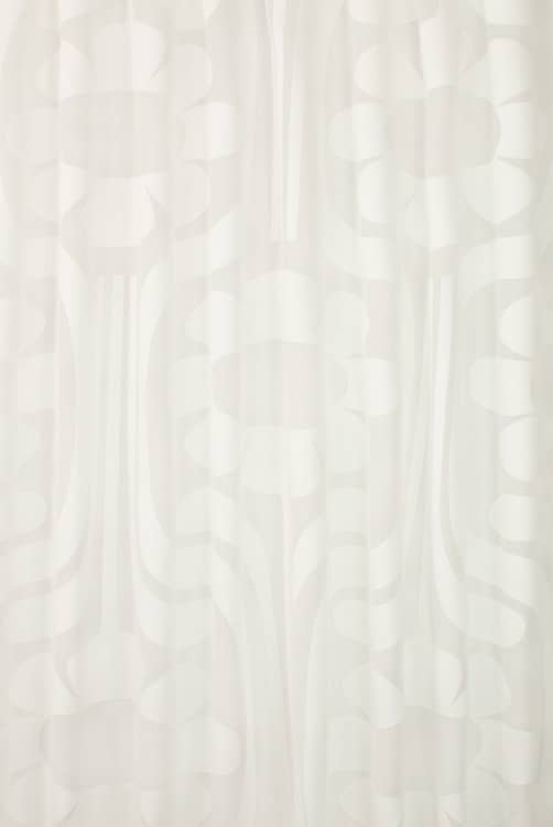 Sheer Climbing Daisy White Made To Measure Voiles