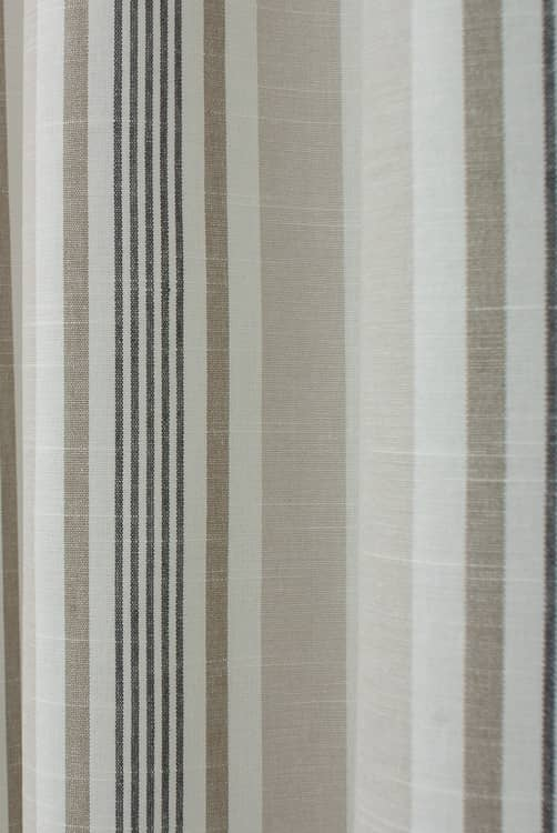 Mappleton Charcoal Curtain Fabric
