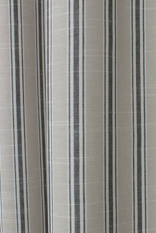 Thornwick Charcoal Curtain Fabric