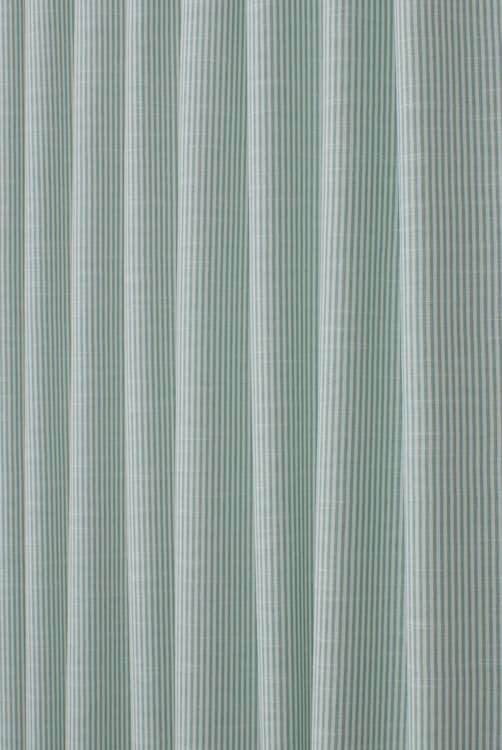 Bempton Aqua Curtain Fabric
