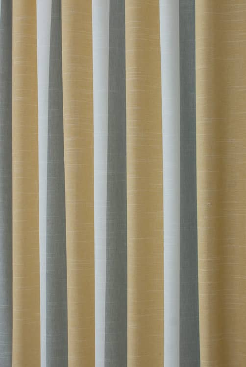 Buckton Ochre Curtain Fabric