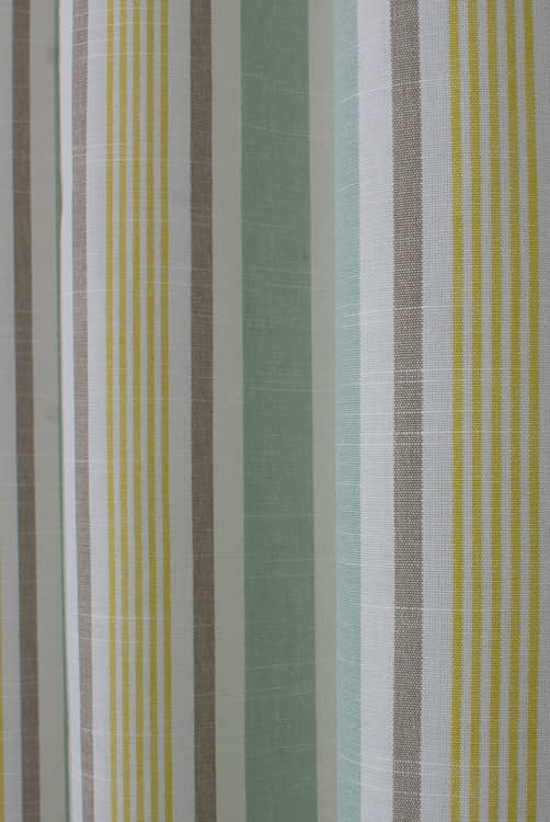 Mappleton Aqua Curtain Fabric