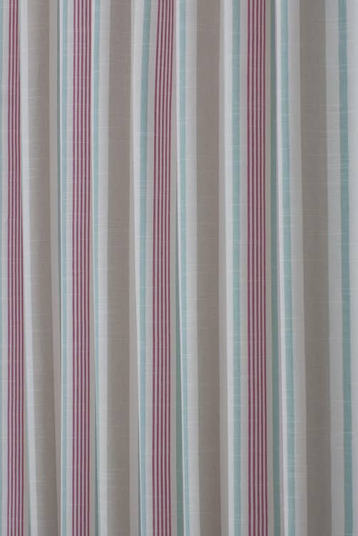 Mapleton Fuchsia Curtain Fabric