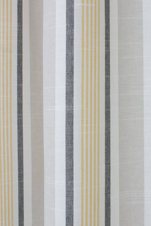 Mappleton Ochre Curtain Fabric