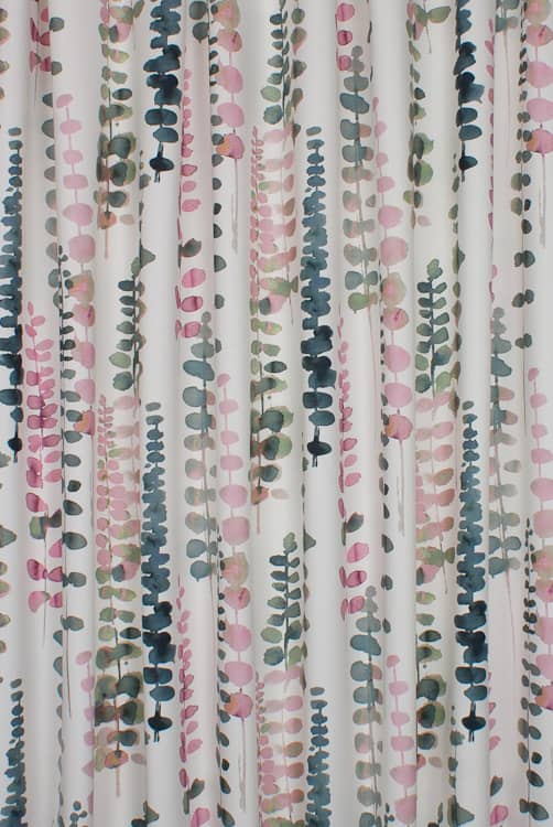 Santa Maria Flamingo Curtain Fabric