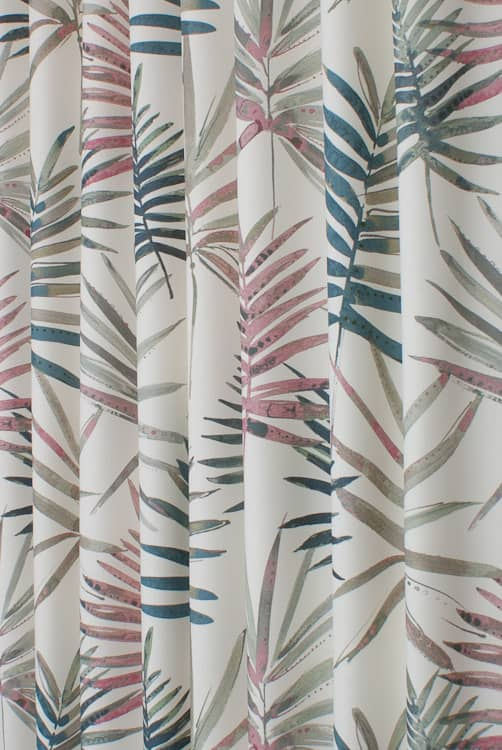 Topanga Flamingo Curtain Fabric