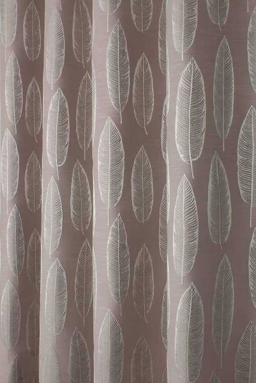 Quill Rosewood Made to Measure Curtains