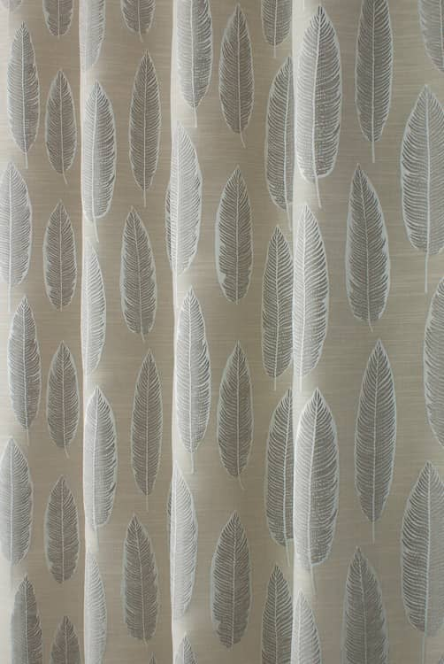 Quill Parchment Curtain Fabric