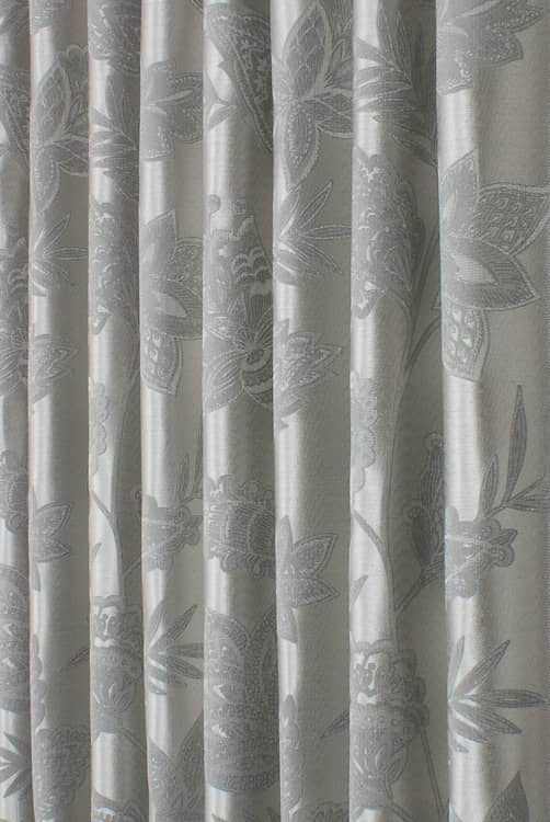 Rhapsody Silver Made to Measure Curtains