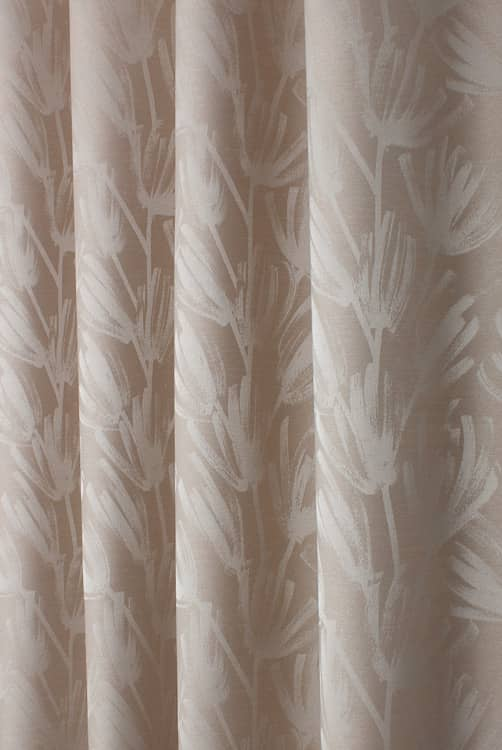 Wilder Sand Curtain Fabric