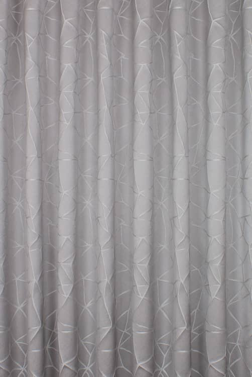 Atlas Slate Curtain Fabric