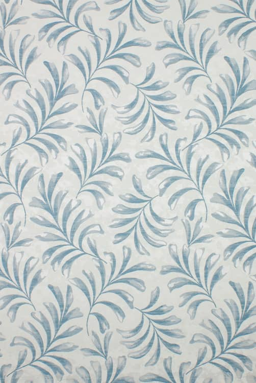 Delamere Blue Curtain Fabric