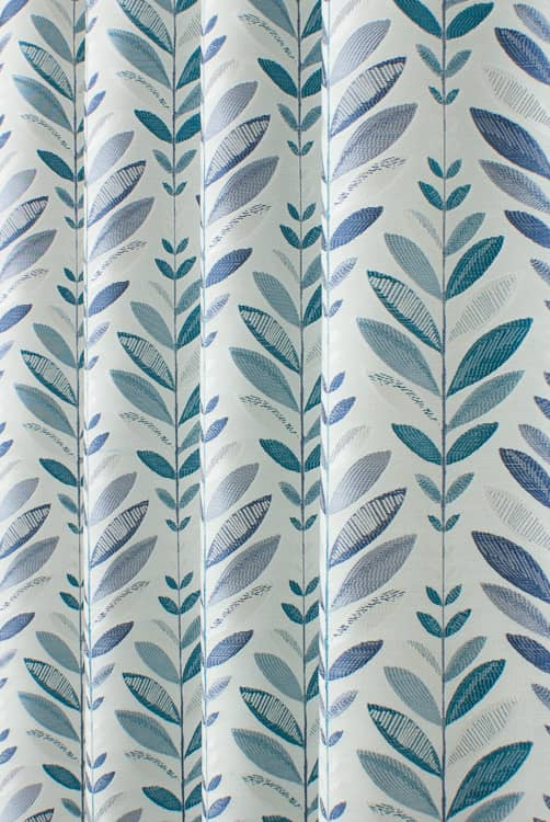 Tivoli Blueberry Made to Measure Curtains