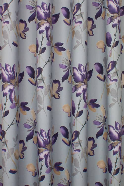 Sorrento Aubergine Made to Measure Curtains
