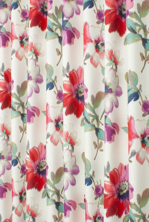 Terracina Berry Roman Blinds