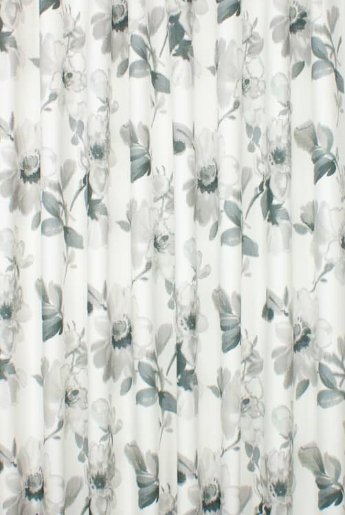 Terracina Slate Curtain Fabric
