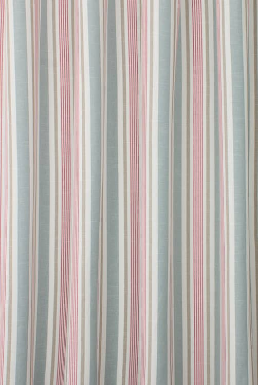 Mappleton Denim Red Made to Measure Curtains