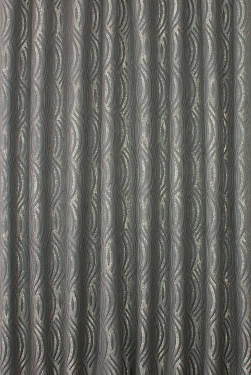 Marilyn Charcoal Curtain Fabric