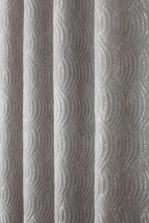 Marilyn Dove Grey Curtain Fabric