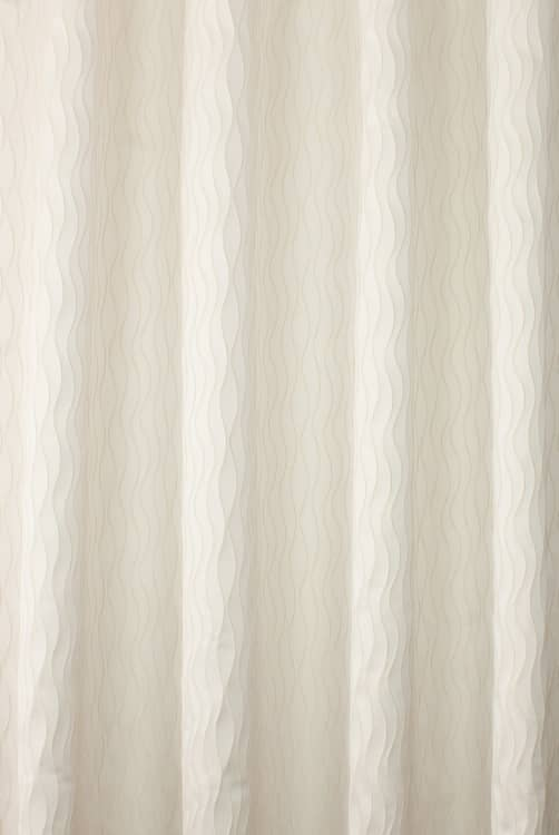 Minerva Ivory Curtain Fabric