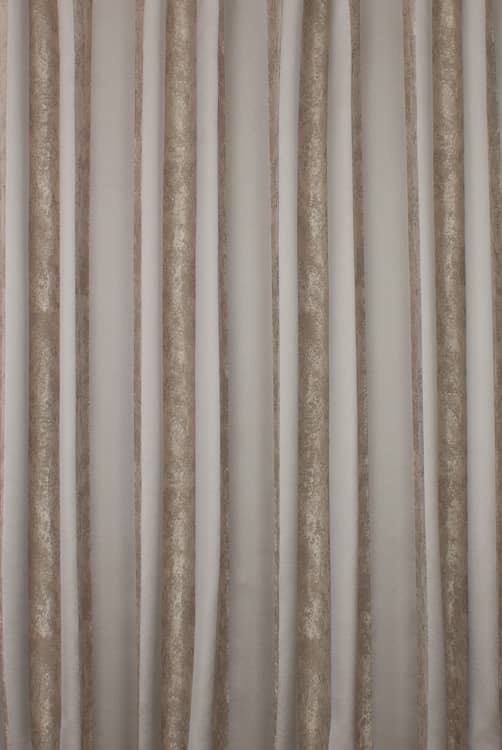 Greta Mocha Curtain Fabric
