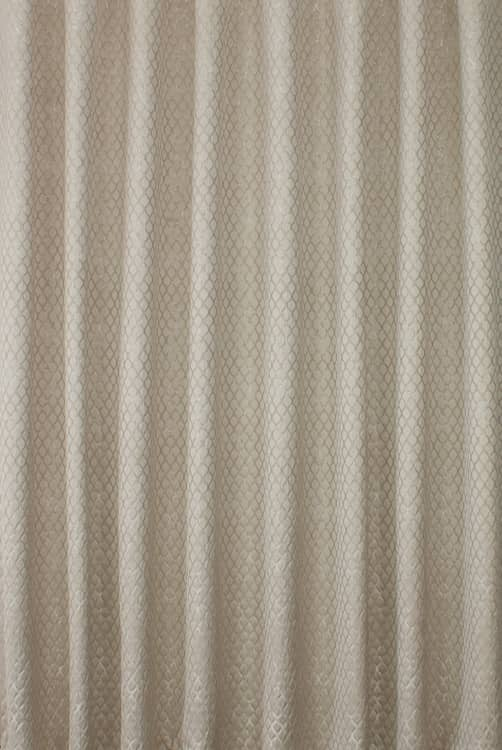 Lauren Taupe Roman Blinds