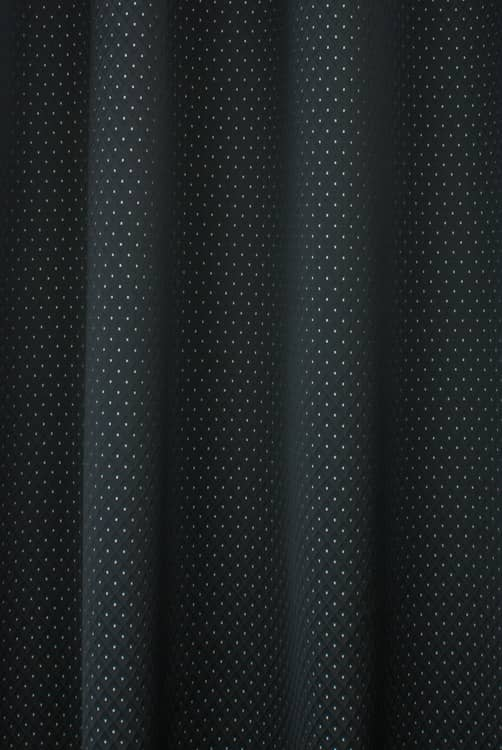 Trevino Black Curtain Fabric