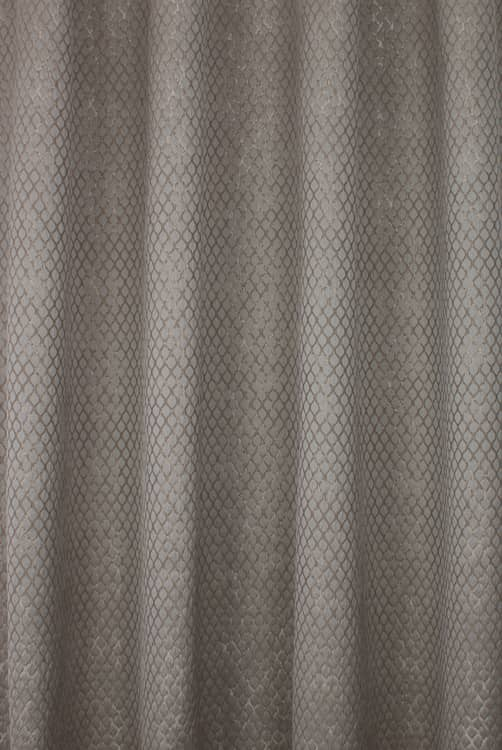 Lauren Mocha Curtain Fabric