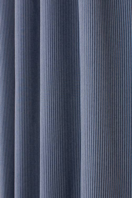 Denim Pin Stripe Indigo