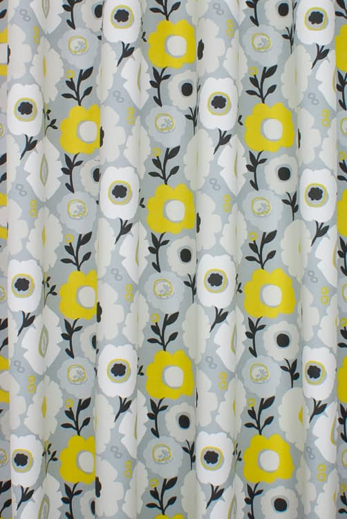 Mimi Ochre Curtain Fabric