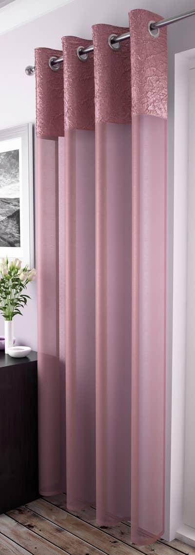 Madeira Blush Voiles & Voile Panels