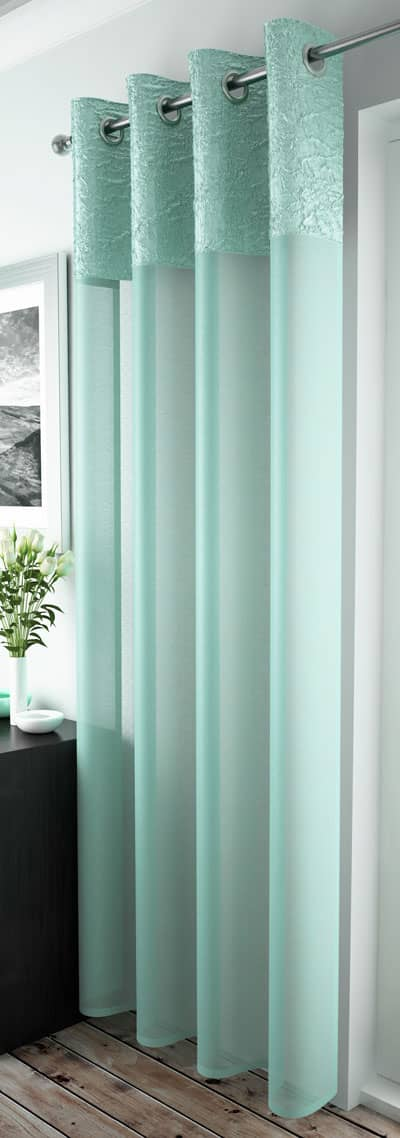 Madeira Duck Egg Voiles & Voile Panels