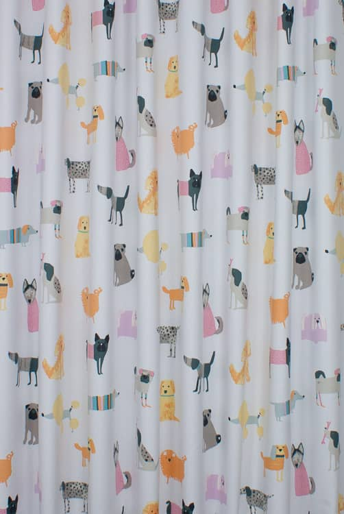Woof Bonbon Curtain Fabric