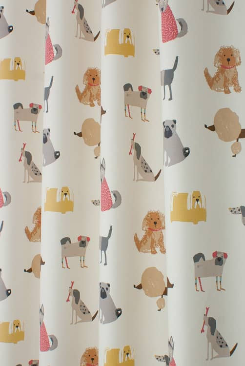 Woof Butterscotch Made to Measure Curtains