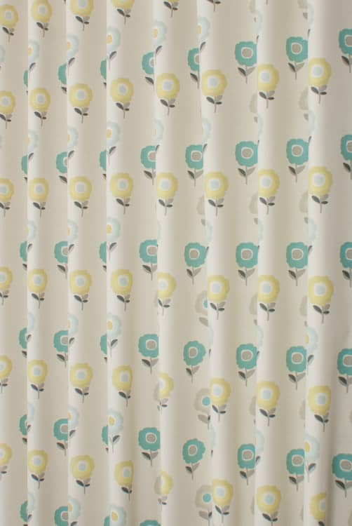 Elsa Teal Made to Measure Curtains