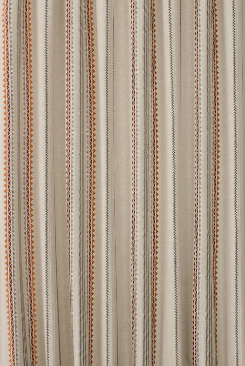 Enzo Rust Made to Measure Curtains