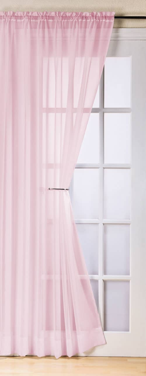 Trent Pink Voiles & Voile Panels