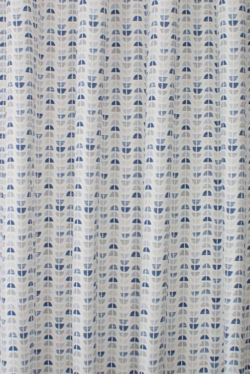 Odense Blue Made to Measure Curtains