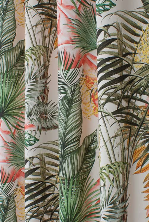 Camila Tropical Made to Measure Curtains