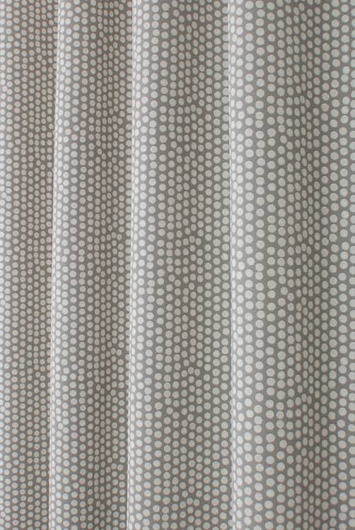 Spotty Grey Made to Measure Curtains