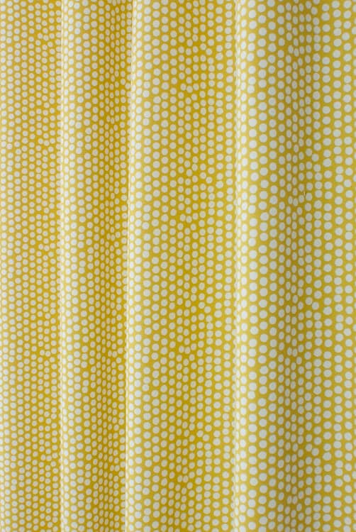 Spotty Ochre Made to Measure Curtains